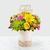 Birthday Sprinkles Bouquet Floral Arrangement