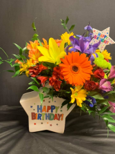 Birthday Star Bouquet
