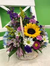 Birthday Sunshine basket in Gibsonton, Florida | Oops a Daisy LLC