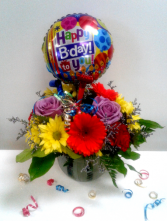 Birthday Surprise! Fresh Flowers in Northfield, Minnesota | JUDY'S FLORAL DESIGN STUDIO