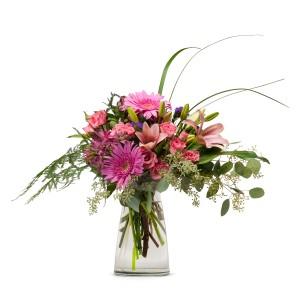 Birthday Surprise Arrangement in Naugatuck, CT   TERRI'S FLOWER SHOP