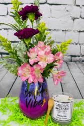 Birthday Vibes Flower Arrangement