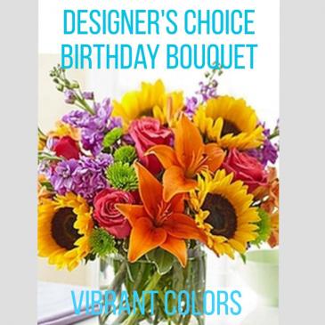 Birthday Vibrant Colors Birthday