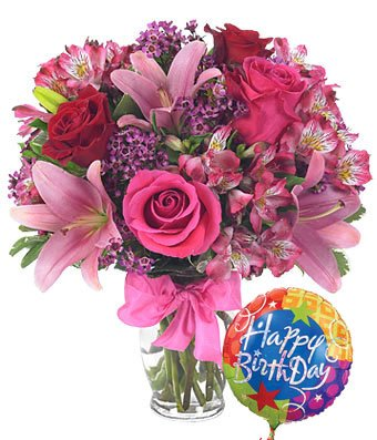 Birthday Wishes All In One Flower Design Ideas