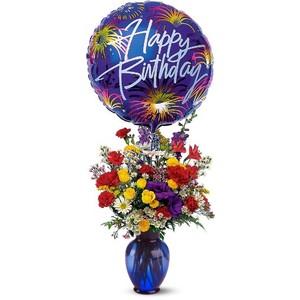 Birthday Wishes Fresh Arrangement