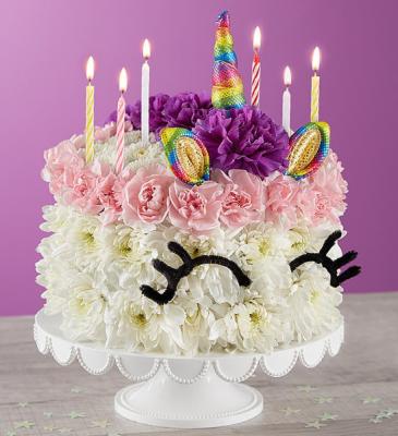 Birthday Wishes Unicorn Cake
