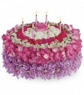 Birthday Flower Cake Birthday