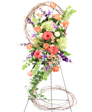 BITTERSWEET DAWN STANDING SPRAY in Arlington, TX | Pantego Florist & Gifts
