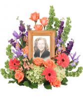 BITTERSWEET TWILIGHT MEMORIAL FLOWERS (FRAME NOT INCLUDED)