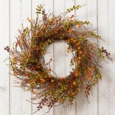 Bittersweet Wreath Artificial