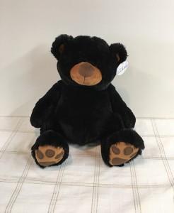 Blach Bear 18 inch Plush