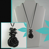 Black Antique Rose Jewelry