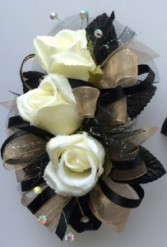BLACK BEAUTY PROM CORSAGE