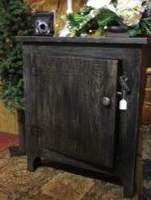 Black Cabinet Wood Furniture
