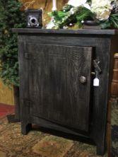Black Cabinet Wood Furniture