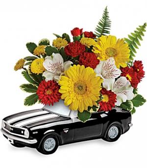 Black Camero Father's Day in Covington, GA | A Bouquet By Betty