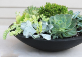 Black cera mix bowl
