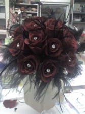 Black Magic Bouquet Wedding bouquet