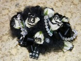 Black Magic Wrist Corsage