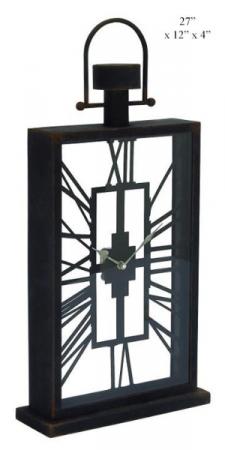 Black Table Clock