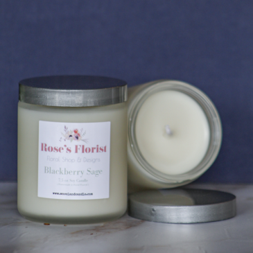 Blackberry Sage Natural Soy Candle
