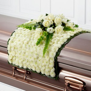 blanket casket spray casket spray