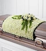 CS 6- Blanket of flowers for the casket Also available in other colors