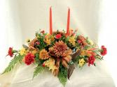 Blazing Bounty Autumn arrangement
