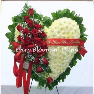 Broken & Bleeding Heart Funeral