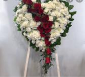 Bleeding Heart Spray Funeral