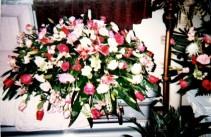 Blended Mixture Bouquet Casket Spray