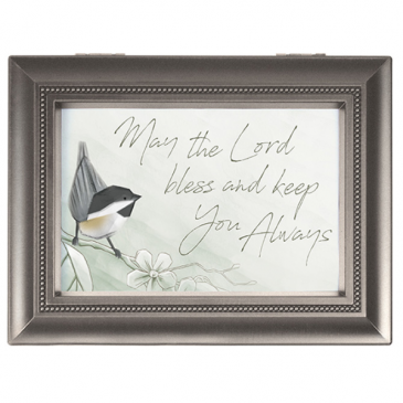 """""""Bless & Keep You"""" Music Box"""