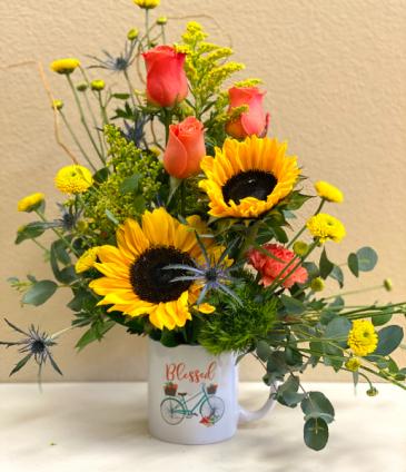 Blessed Bouquet  Arrangement of Flowers
