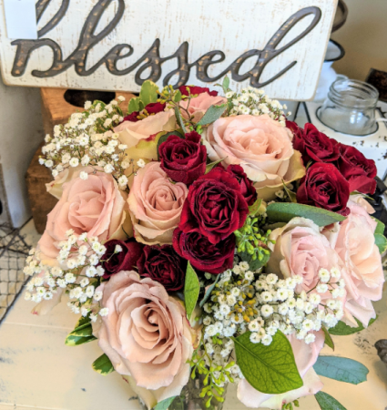 Blessed Bride Bridal bouquet In-House Special