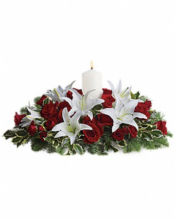 Blessed Christmas Centerpiece comes in 3 sizes to choose from