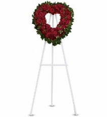 Blessed Heart                            T225-2A  Funeral Standing Spray