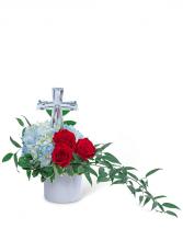 Blessed Hero Flower Arrangement