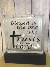 Blessed is the one who Trusts in the Lord Gift