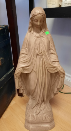 Blessed Mary Statue Memorial Giftware