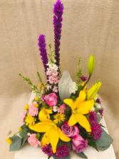 Blessed Mother Bouquet  Fresh Arrangement