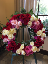 Blessed Soul Standing Wreath