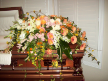 blessed tribute casket blanket