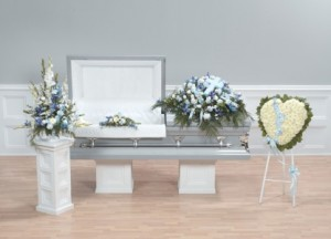 Blessings in Blue Grouping in Naples, FL | DYNASTY FLOWER SHOP
