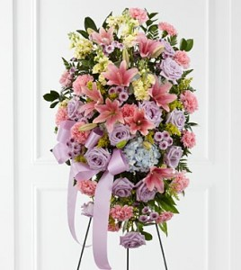 Blessings of the Earth™ Easel Symphaty flowers