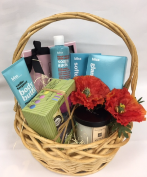 Bliss Beauty Basket Gift Basket in East Stroudsburg, PA | BLOOM BY MELANIE