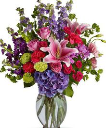 Happy birthday flowers colorado springs co enchanted florist ii blissful beauty floral arrangment in colorado springs co enchanted florist ii mightylinksfo