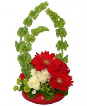 Blissful Bells of Ireland Bouquet in Walkersville, MD | ABLOOM LTD