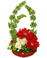 Blissful Bells of Ireland Bouquet
