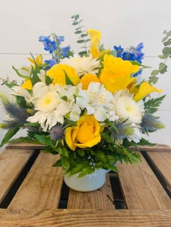 Blissful Blossoms   Floral Arrangement