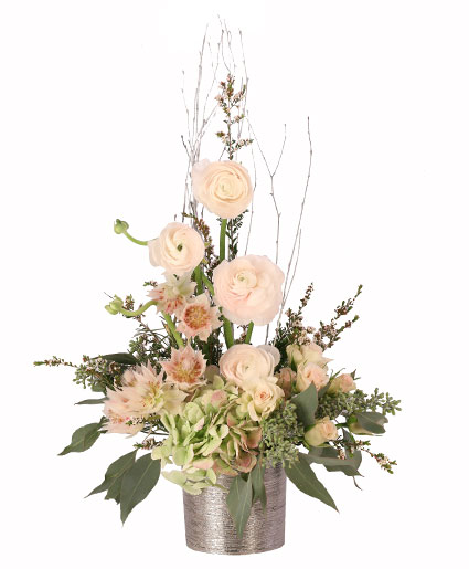 Blissful Blush Flower Arrangement